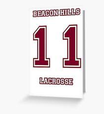 Beacon Hills Jersey (Scott McCall) Greeting Card
