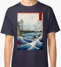Utagawa Hiroshige The Sea at Satta in Suruga Province Classic T-Shirt