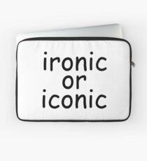 ironic or iconic comic sans Laptop Sleeve