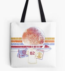 Raumschiff Erde und Monorail Vintage T-Shirt Tote Bag