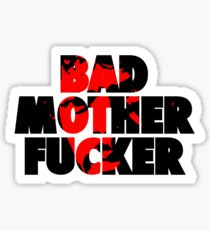 Pulp fiction - Bad Mother Fucker Sticker