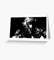 Raiden v2 Greeting Card