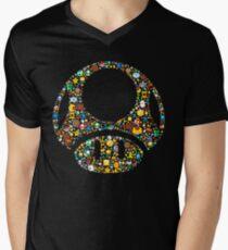 Toad minimalist Men's V-Neck T-Shirt