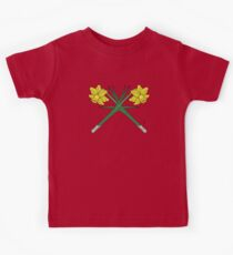 Daffodils Crossed Kids Tee