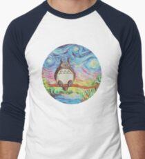 Totoro 3 Men's Baseball ¾ T-Shirt