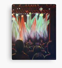 Stage Lights: In the Crowd Canvas Print