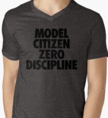 MODEL CITIZEN ZERO DISCIPLINE Men's V-Neck T-Shirt