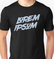 Lorem Ipsum - Pastel Color T-Shirt
