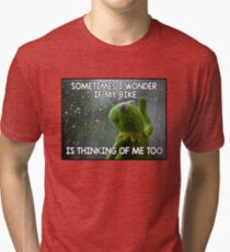Sometimes I wonder Tri-blend T-Shirt