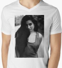 The girl in b&w T-Shirt