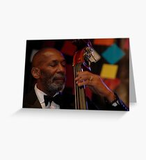 Ron Carter Trio @ Jazz & Blues Festival 2011 Greeting Card