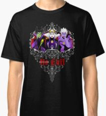 Three Wise Villains (Purple) Classic T-Shirt