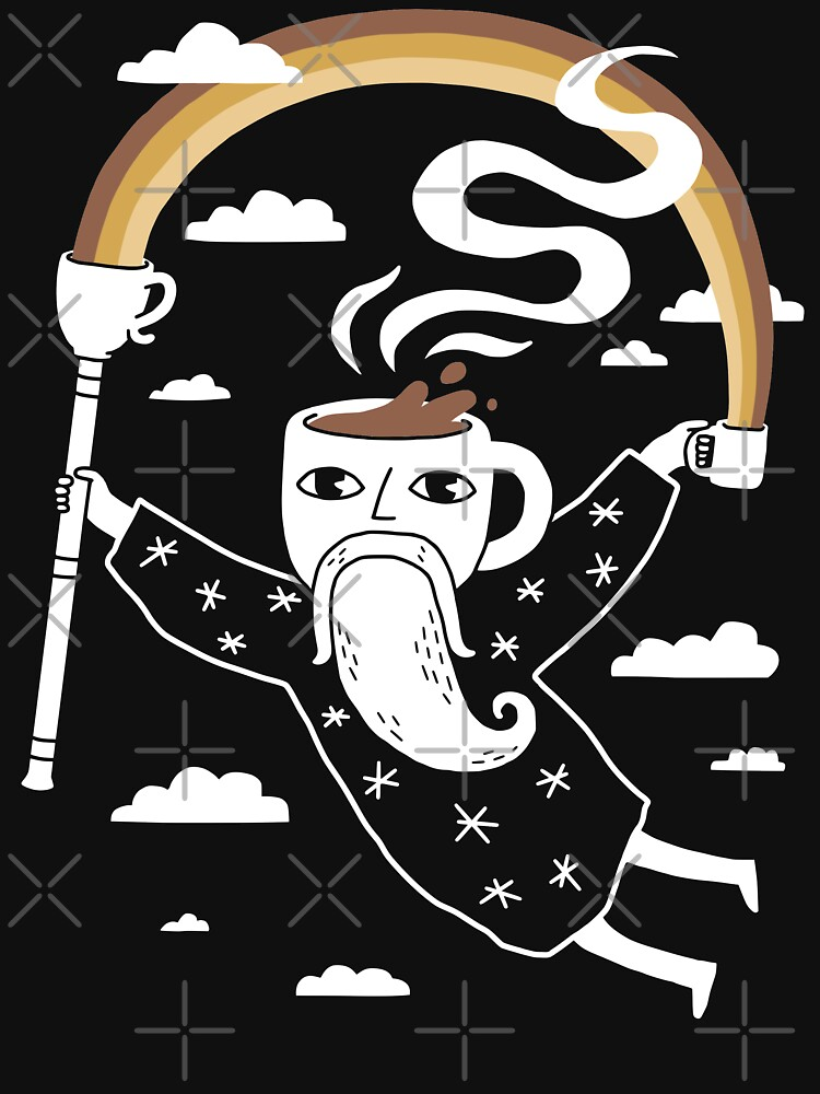 Joe the Coffee Wizard by obinsun