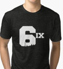 The 6ix Tri-blend T-Shirt
