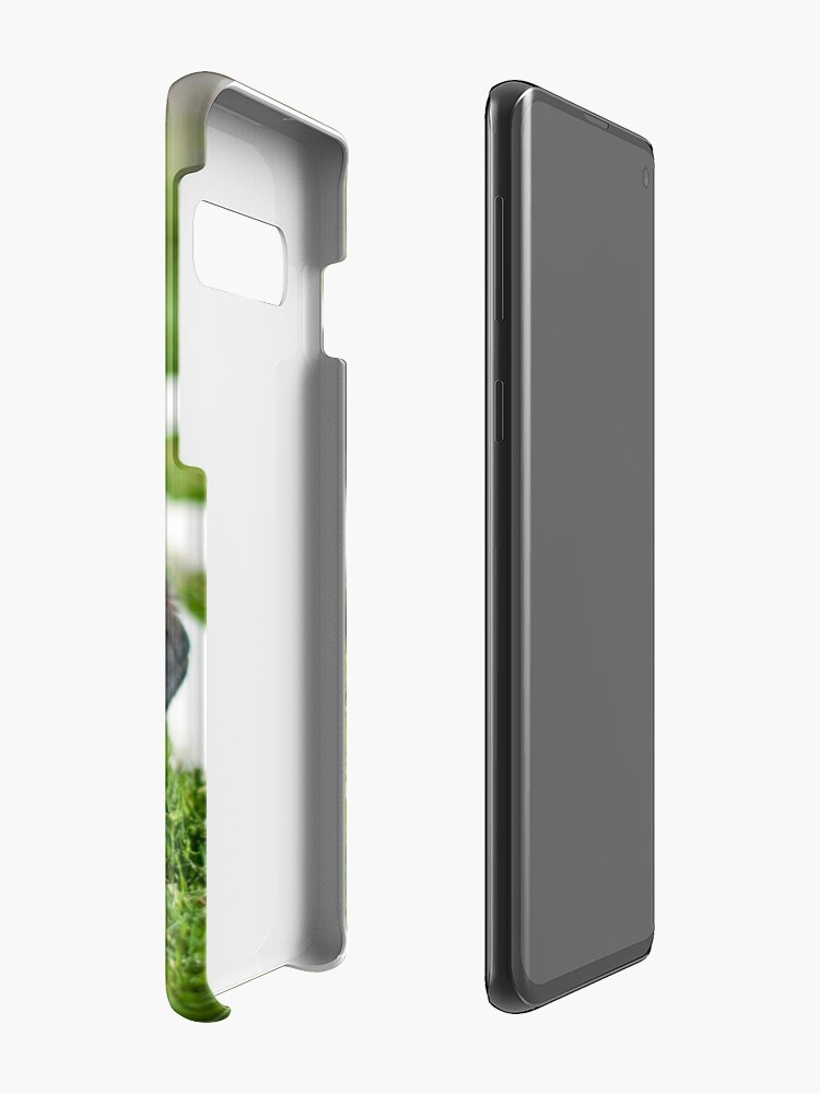 Alternate view of Puppy in the grass Case & Skin for Samsung Galaxy
