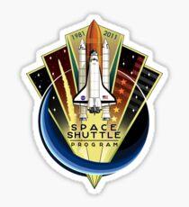 Shuttle Program Commemorative Patch Sticker