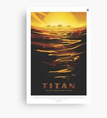 NASA Tourism - Titan Canvas Print