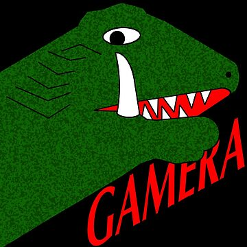 Gamera - Black by scribbledeath