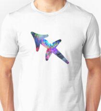 Sagittarius Psychedelic Symbol Unisex T-Shirt