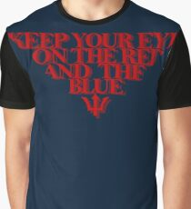 Melbourne Demons - The Red & the Blue Graphic T-Shirt
