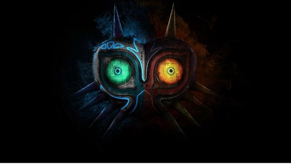 Zelda majora mask by santisimo