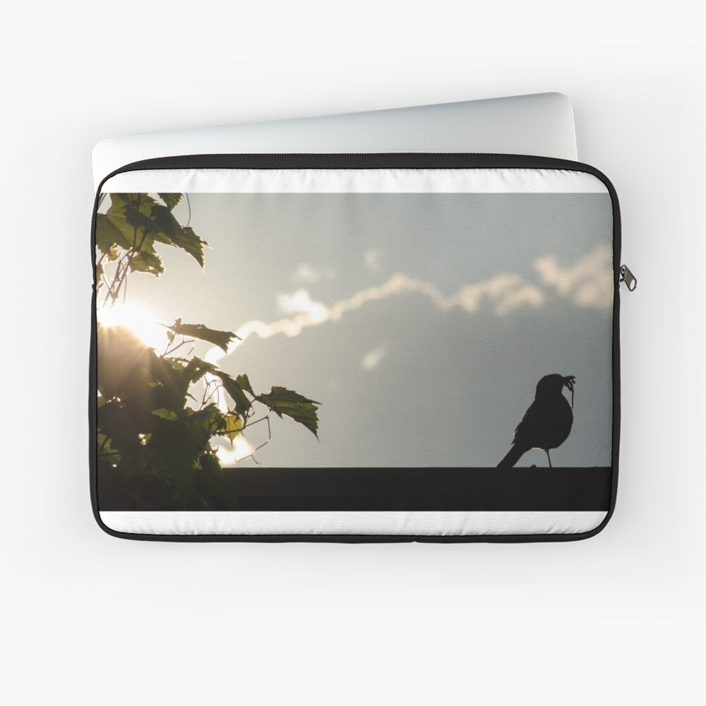Early bird gets the worm Laptop Sleeve