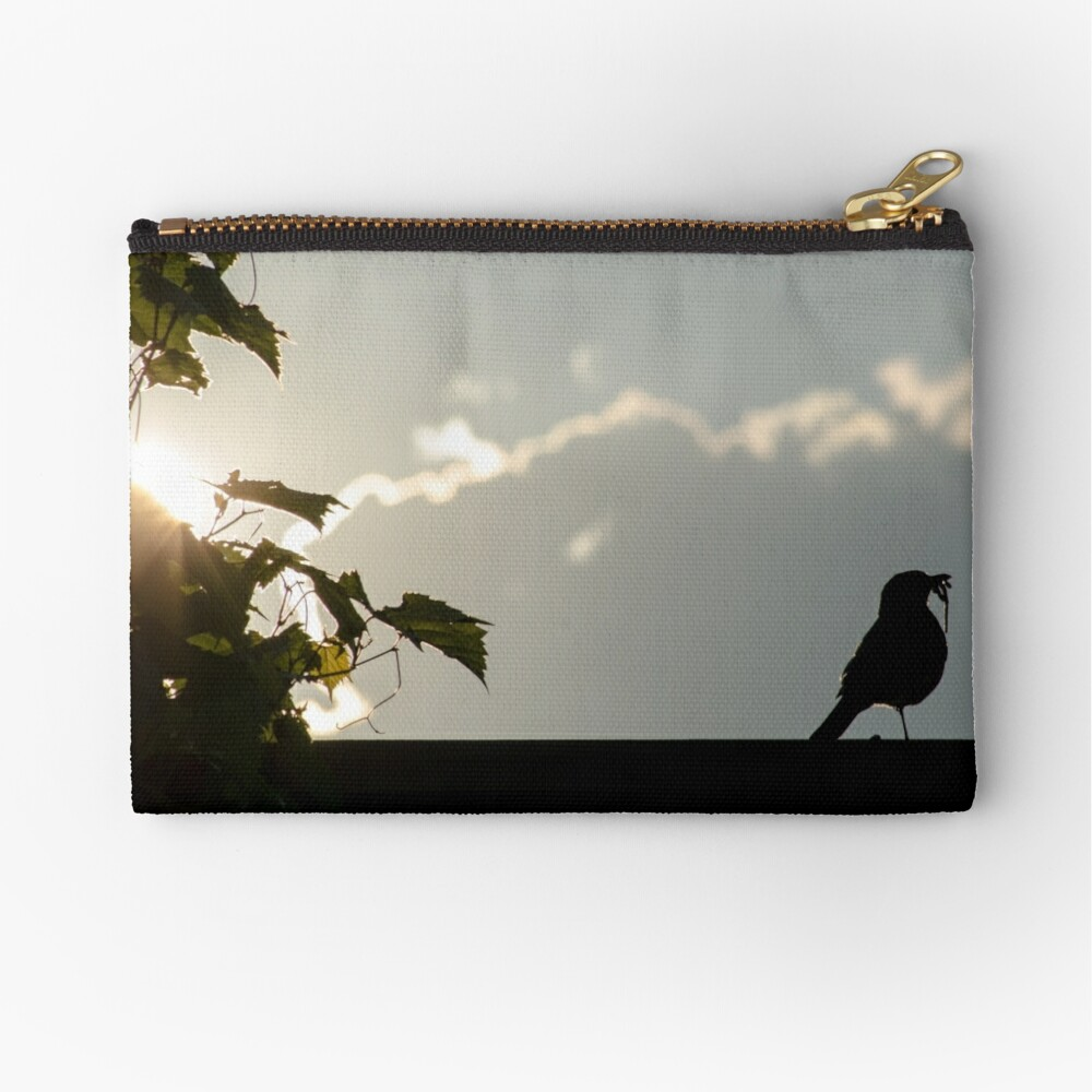 Early bird gets the worm Zipper Pouch