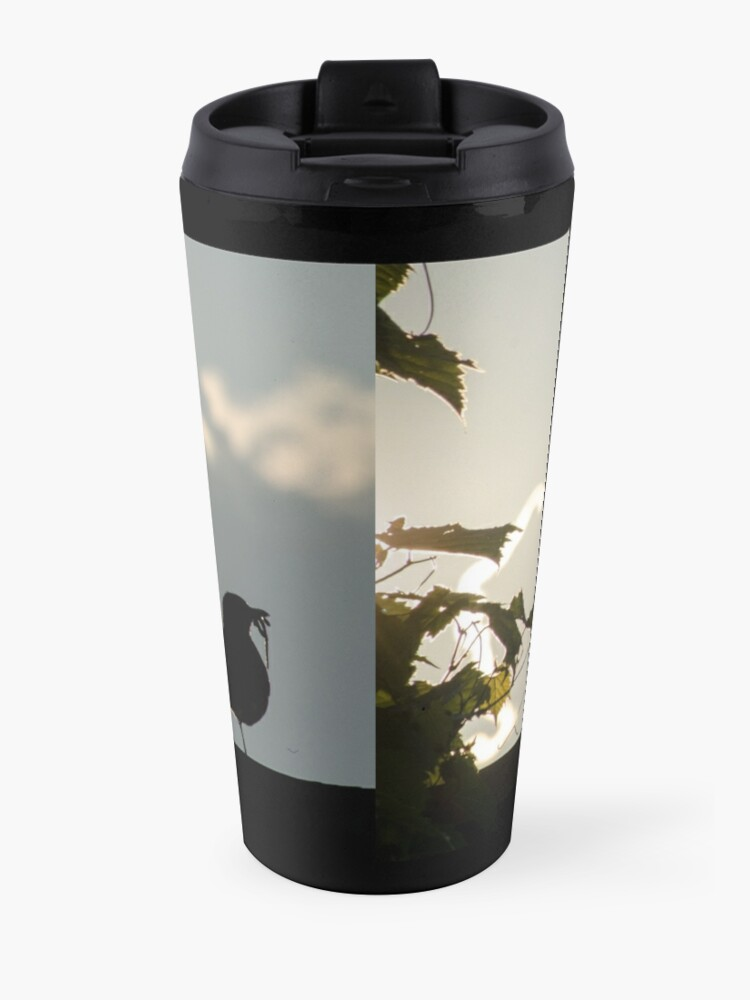 Alternate view of Early bird gets the worm Travel Mug