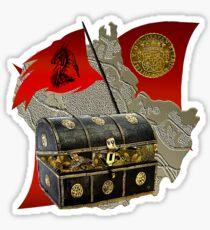 Claims To Island Treasure Sticker