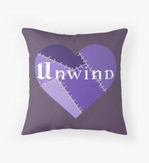 Unwind Heart Throw Pillow