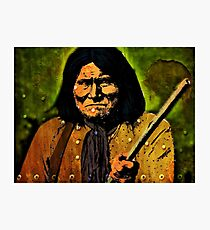GERONIMO-2 Photographic Print
