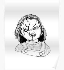 Chucky from Childs Play Poster