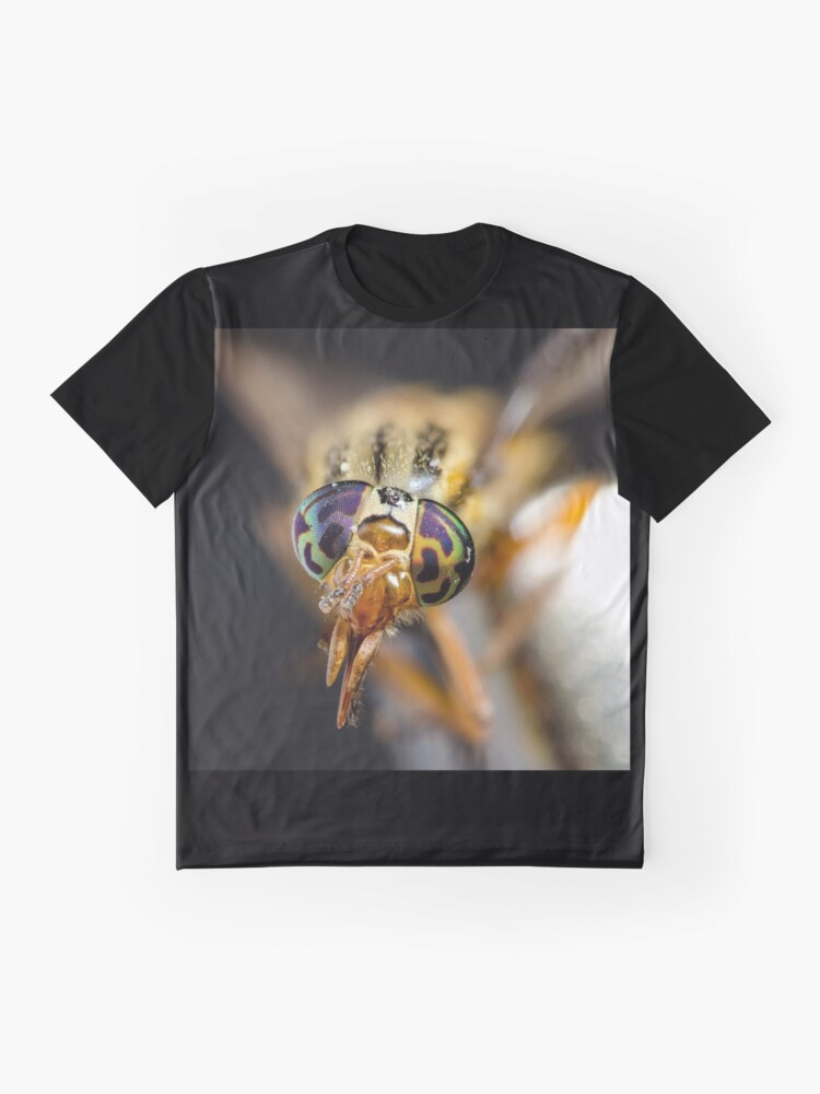 Alternate view of Crazy eyes Graphic T-Shirt