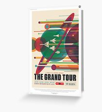 NASA Tourism - Grand Tour Greeting Card