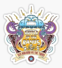 Scott Pilgrim - Battle of the Bands Sticker