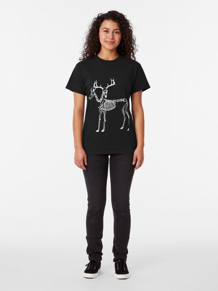 Alternative Ansicht von Zweiköpfige Hirsche Classic T-Shirt