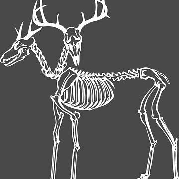 Two Headed Deer by honestlyanthony