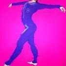 Purple Dancer by Fiona  Lohrbaecher