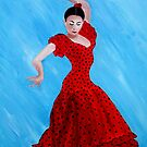 Viva Flamenco by Fiona  Lohrbaecher