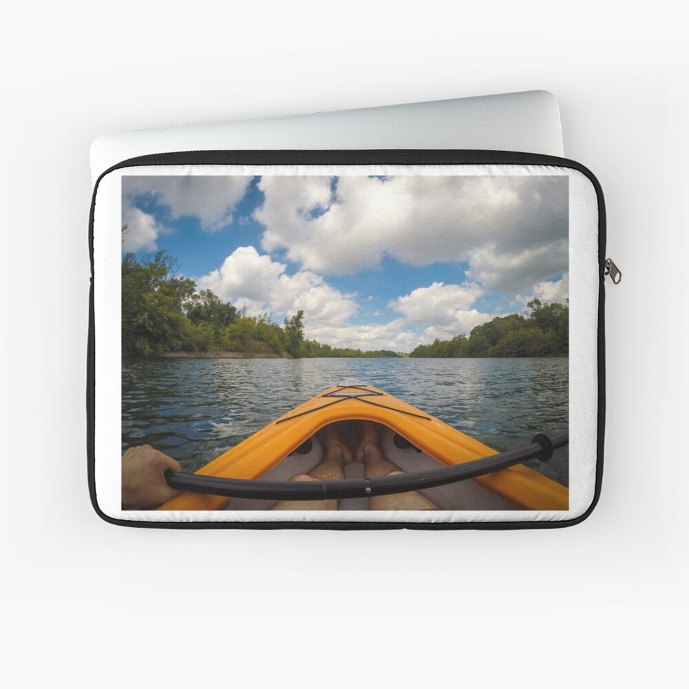 Out on the water Laptop Sleeve