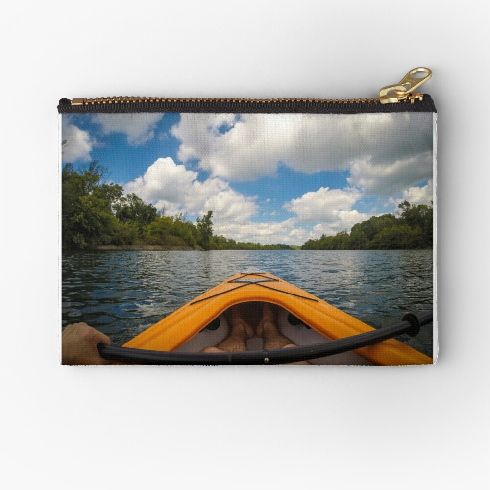 Out on the water Zipper Pouch