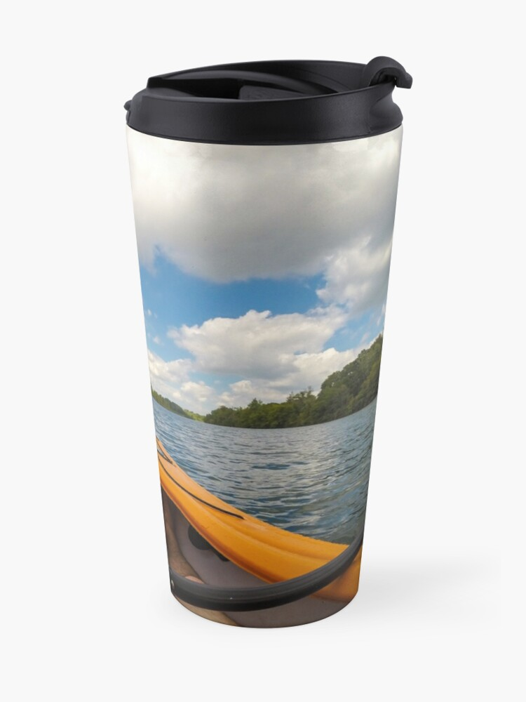 Alternate view of Out on the water Travel Mug