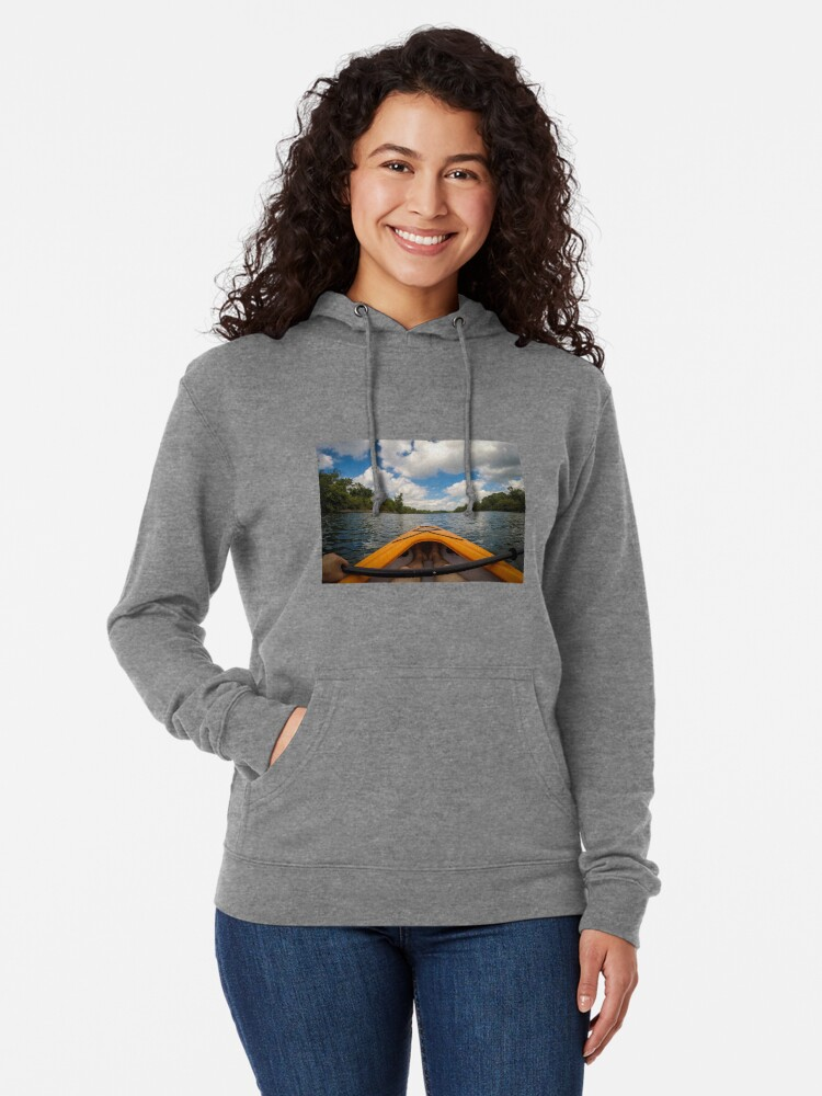 Alternate view of Out on the water Lightweight Hoodie