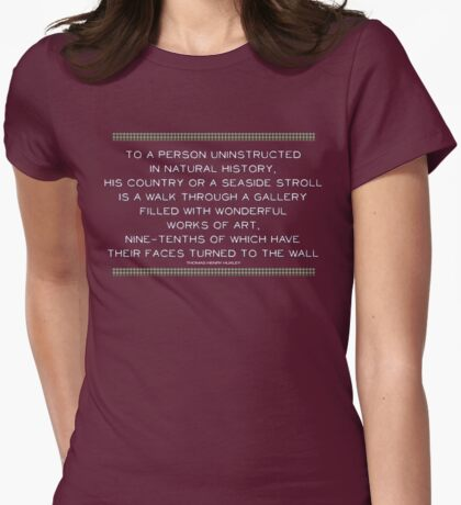 T. H. Huxley Quotation (fcw) T-Shirt