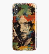 Watercolor Daryl iPhone Case