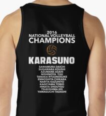 Karasuno Champions Tank Top