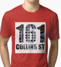 161 Collins St Silhouette Tri-blend T-Shirt