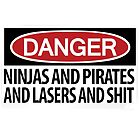 Ninjas and Pirates and Lasers, Oh My! by boltage69