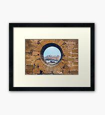 Framing Mogador Framed Print