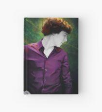Purple shirt Hardcover Journal
